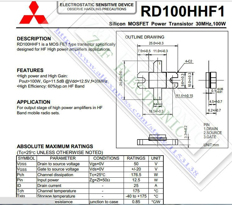 RD100HHF1 PDF
