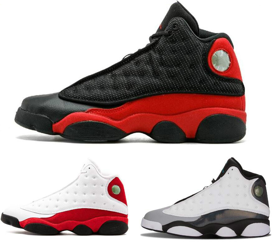 e184feaed4c8 Jordan 13 XIII Men Basketball Shoes Chicago White Red Altitude Grey Toe  Wheat Olive Pure Money