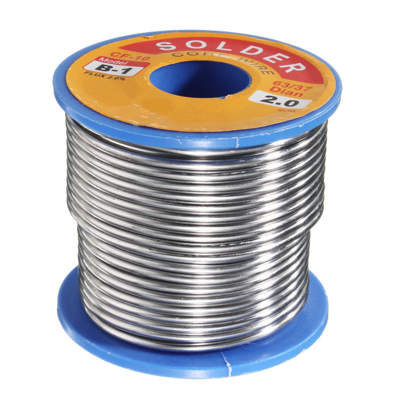 Best Price 300g 2.0mm Tin Leaded Rosin Core Solder Soldering Welding Iron Wire Reel 63/37 Solder Wire 55 x 50 mm Flux 2.0% чехол книжка samsung clear view cover для samsung galaxy a510 поликарбонат gold золотистый ef za510cfegru