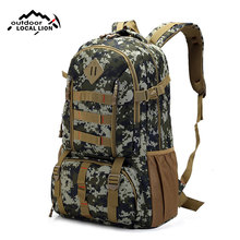 Waterproof Camo Tactical Military Backpack Women Men Outdoor Sports Molle Army Bags Hunting Trekking Tourist Rucksack XA193WD