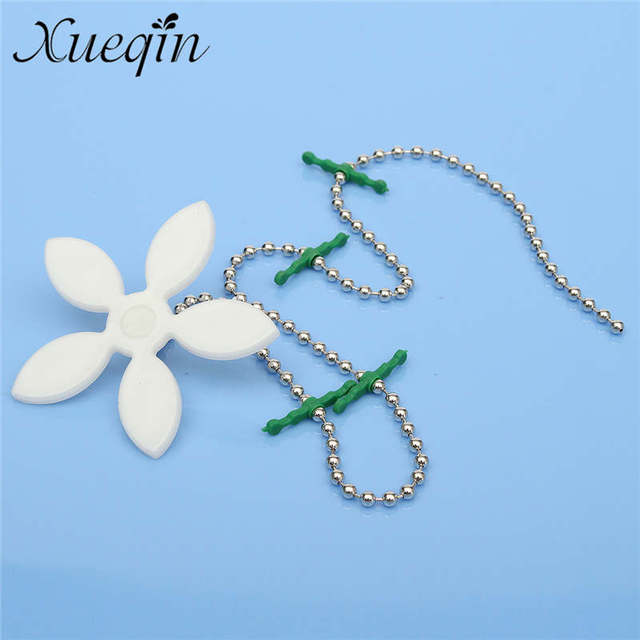 Xueqin White Flower Shape Bathtub Drain Cleaner Hair Filter Drain Cleaner  Shower Blockage Preventer Bathroom Tub