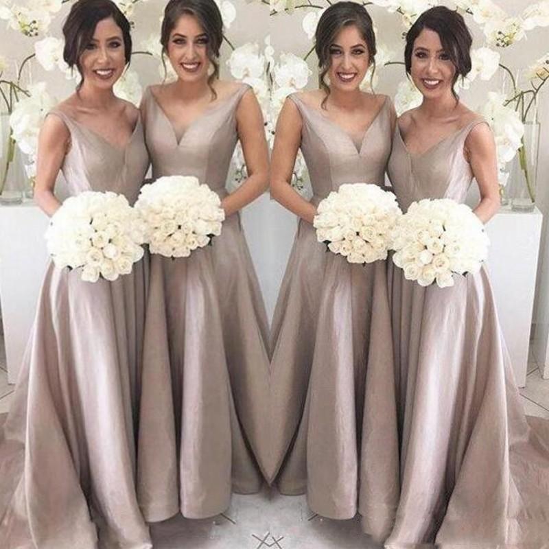 Aliexpress.com : Buy Simple Elegant Bridesmaid Gowns A