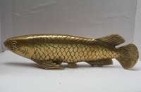 christmas decorations for home+ christmas decorations for home+ Metal Crafts Chinese Brass Carved Fish Statue , Fish sculpture