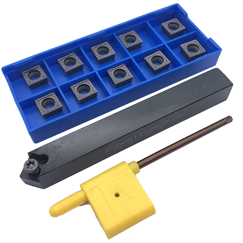 1PCS SSDCN1212H09 10PCS SCMT09T304 HMP PC9030 CNC Tool Blade Lathe Turning Tool Carbide Insert Tool Holder in Turning Tool from Tools