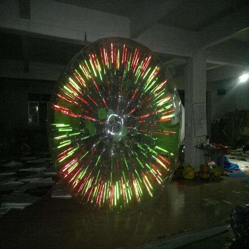 Zorb bola 2.5 M diameter hamster manusia bola 0,8 mm bahan TPU - Hiburan dan olahraga luar ruangan - Foto 2