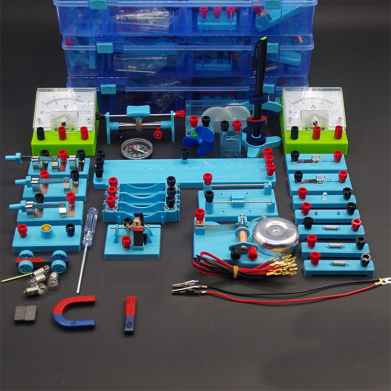 Nouveau Junior lycée physique électrique matériel expérimental outils ensembles boîte expérimentale matériel d'enseignement aides-in Physique from Fournitures scolaires et de bureau    1