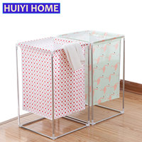 Large Capacity Laundry Basket Cloth Dirty Clothes Basket Assembly Multifunction Clothing Toys Finishing Storage Basket EGG009