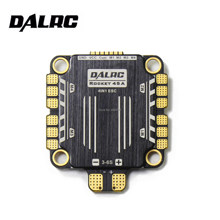 Cohete DALRC 45A 4IN1 ESC BLheli32 DShot1200 4 en 1 ESC sin escobillas solution solución ESC sin interferencias 30,5*30,5mm 4 en 1 ESC(China)