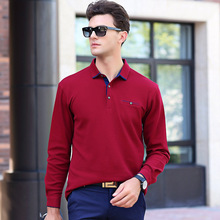Men Polo Shirt 2017 Autumn Fashion Polo Shirts Men Long Sleeve Casual Camiseta Masculinas Plus Size Polos Sweatshirt