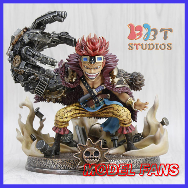MODEL FANS instock one piece sd version 19cm Kid Pirates gk resin statue Figure for Collection genuine megahouse p o p portrait of pirates excellent model limited one piece nefeltari vivi ver bb collection figure