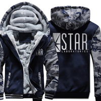 STAR S T A R Labs Print Harajuku Hoodies Men 2018 New Fashion Streetwear Sweatshirts Male