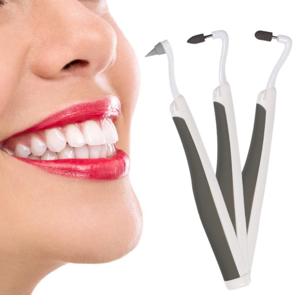 Ultrasonic Vibration Tooth Whitening Tool Electric Sonic Cleaning Machine Stain Eraser Agent Teeth CW31 in Teeth Whitening from Beauty Health