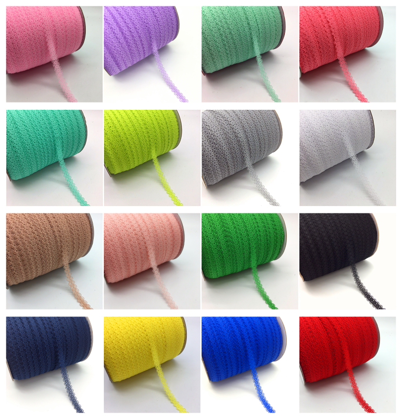 """10yards lot 5 8 15mm Lace Ribbon Bilateral Handicrafts Embroidered Net Lace Trim Fabric Ribbon DIY 10yards/lot 5/8"""" (15mm) Lace Ribbon Bilateral Handicrafts Embroidered Net Lace Trim Fabric Ribbon DIY Sewing Skirt Accessories"""