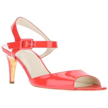 Various Colours Women Sandals Casual Ankle Buckle Strap Patent Leather Peep Toe Shallow Summer Cheap Fashion Ladies Shoes
