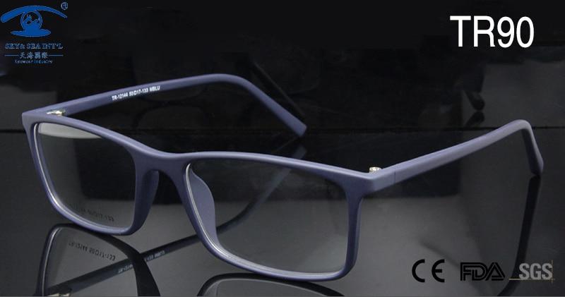 ESNBIE Homens ÓPTICOS RX-able Armações de Óculos de Olho para As Mulheres  TR90 de Alta Qualidade Retângulo Quadro Lerdo Nerd de Óculos de Prescrição  lente 8b616381bf