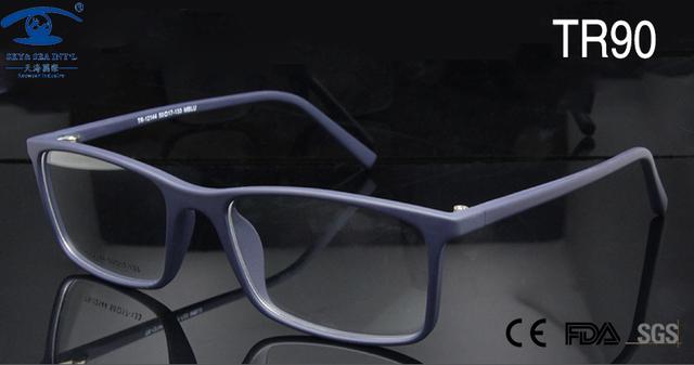 SKY & SEA Homens ÓPTICOS RX-able Armações de Óculos de Olho para As Mulheres TR90 de Alta Qualidade Retângulo Quadro Nerd Do Geek óculos de Lentes de Prescrição