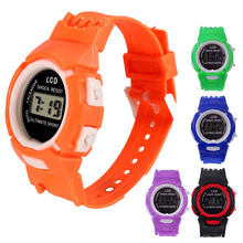 LCD Round Phone Children's Smart Electronic Watch Cartoon Children's Electronic Watch(China)