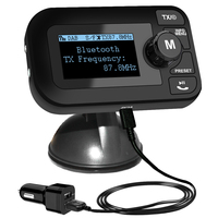In Car DAB Digital Radio with FM Transmitter, 2.3 LCD Screen Bluetooth Receiver, Micro SD/TF Card Play, Hands free Call, Car Ch