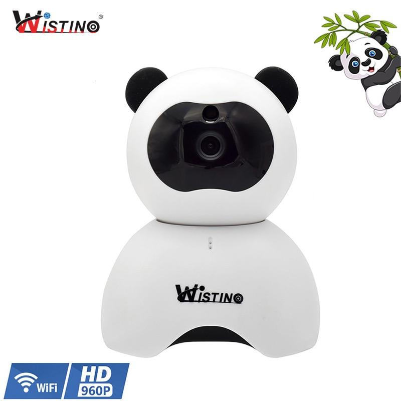 Wistino CCTV Home Security IP Camera Wireless WiFi Mini Camera Surveillance Baby Monitor HD Audio Night Vision 360 Degree PTZ