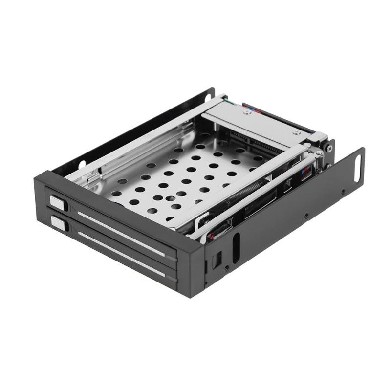 2.5 inch to 3.5 inch SATA Hard Disk Internal Enclosure Optical Drive Bay Rack 2TB HDD Enclosure Docking Station original for huawei rh2288 1288v2 server 2 5 inch disk drive bay hdd enclosure