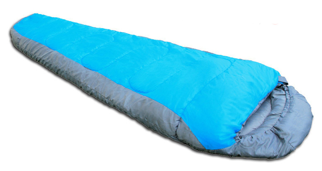 High Quality Outdoor Camping Mummy Single Person Cotton Three Seasons Sleeping Bag