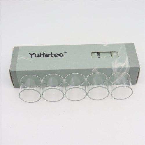 Original Yuhetec Glass Tank For Smok Tfv8 Big Baby Stick V8 5pcs/lot Rba
