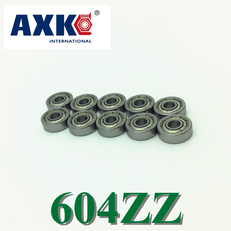 Rodamientos Time-limited Steel 4000pcs Miniature Bearing 604zz 2018 New Coming Shoe Usded For Toy/ Machine free shipping 50pcs lot miniature bearing 688 688 2rs 688 rs l1680 8x16x5 mm high precise bearing usded for toy machine