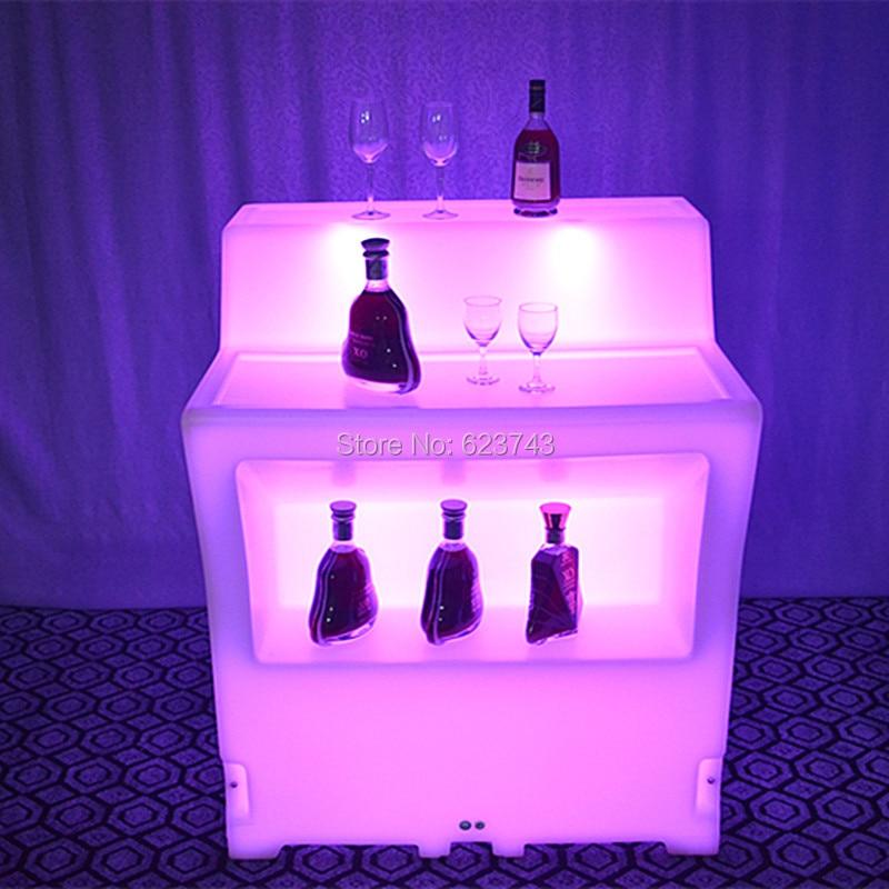 LED BAR Lumineux Table  2