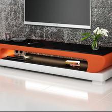 Натуральная стеклянная верхняя кожаная стойка для телевизора, современная мебель для гостиной, мебель для дома, телевизор, led монитор, подставка, mueble ТВ шкаф, mesa ТВ стол