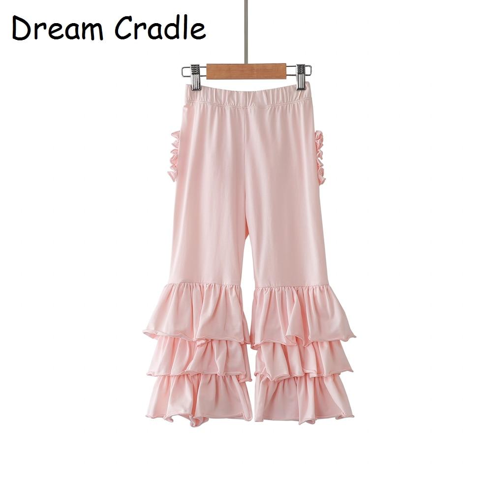 Dream Cradle - Triple Ruffle Toddler Pants Baby pants Girls