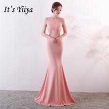 Вечерние платья royal o образным вырезом it's yiiya Вечернее