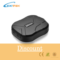 Lexitek Car GPS Tracker Vehicle Tracking Device tkstar GSM Locator TK905 Standby 60 Days Waterproof Magnet Free Web APP Monitor