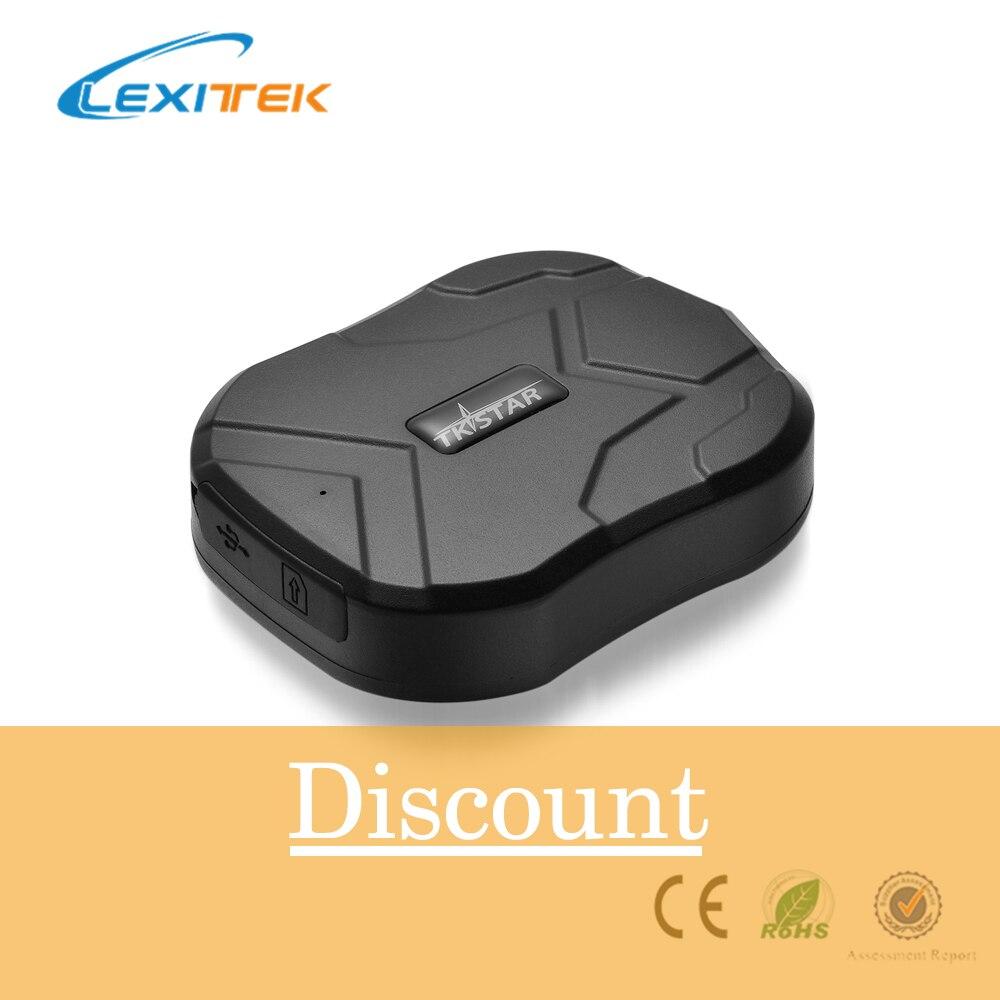 Lexitek Автомобильный gps трекер устройство слежения tkstar GSM локатор TK905 в режиме ожидания 60 дней водонепроницаемый Магнит Бесплатная веб приложение монитор
