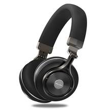 Bluedio t3 Bluetooth Headset Headphones With HD Mic & 2 DPS Noise discount Earbuds 3D Stereo Bass Wi-fi+Wired Double Mode