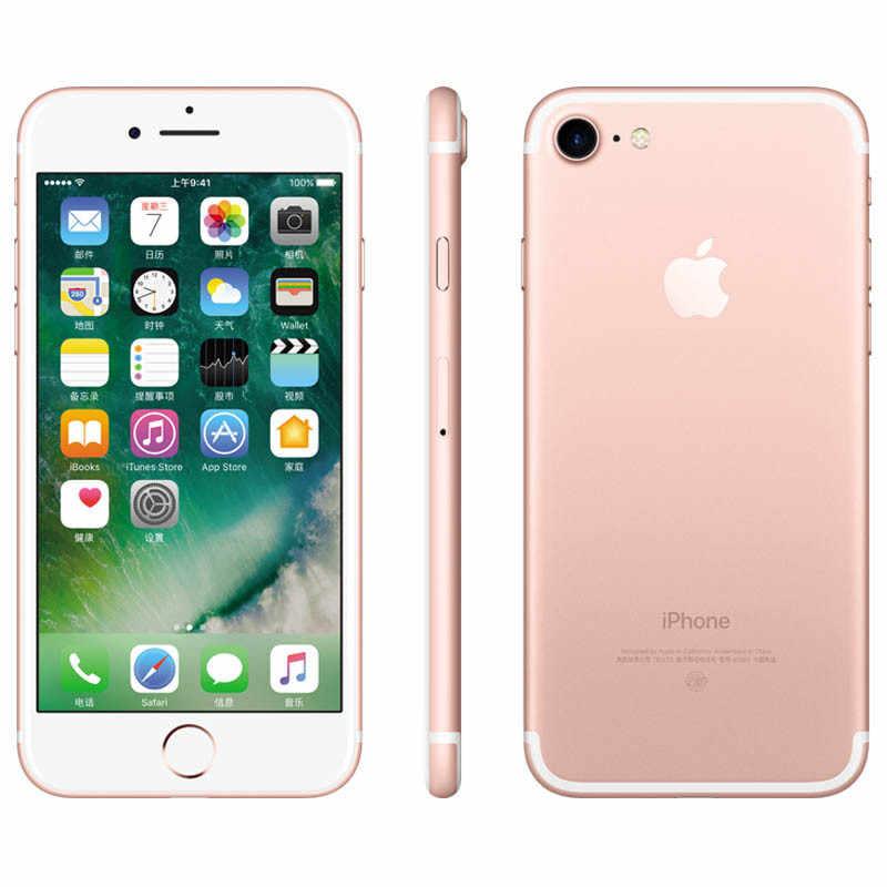 Original débloqué Apple iPhone 7/7 Plus 4G LTE téléphone portable Quad Core IOS 12.0MP caméra tactile ID utilisé Smartphone