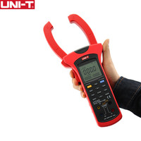 UNI T UT243 Power and Harmonics Clamp Meters Phase Factor Power Meter Active Energy USB Interface AC Current Voltage Test