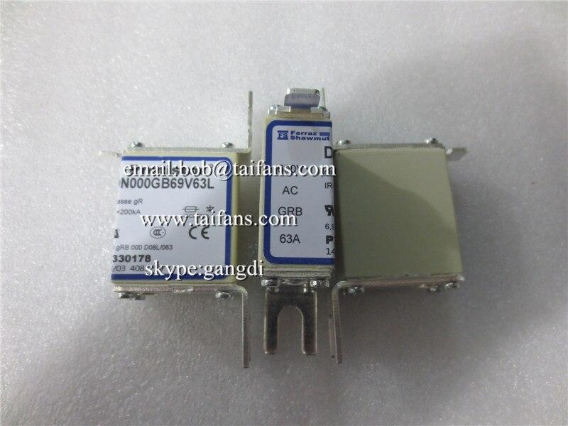 Acheter Original nouveau DN000GB69V63L 63A 690 V fusible P330178 de Pièces de climatiseur fiable fournisseurs