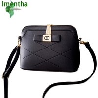 Imentha Original New 2016 Autumn Fashion One Shoulder Bags Women Leather Handbags Women Messenger Bags Women