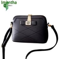 Imentha Original New 2016 Autumn Fashion One Shoulder Bags Women Leather Handbags Women Messenger Bags Women