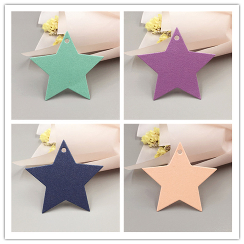 d13e0fa454d4 US $10.83 70% OFF|1000Pcs/Lot Paper Star Shaped Small Gift Box Packing Hang  Price Tag Labels For Handmade Craft Luggage Food Name Note Card Labels-in  ...