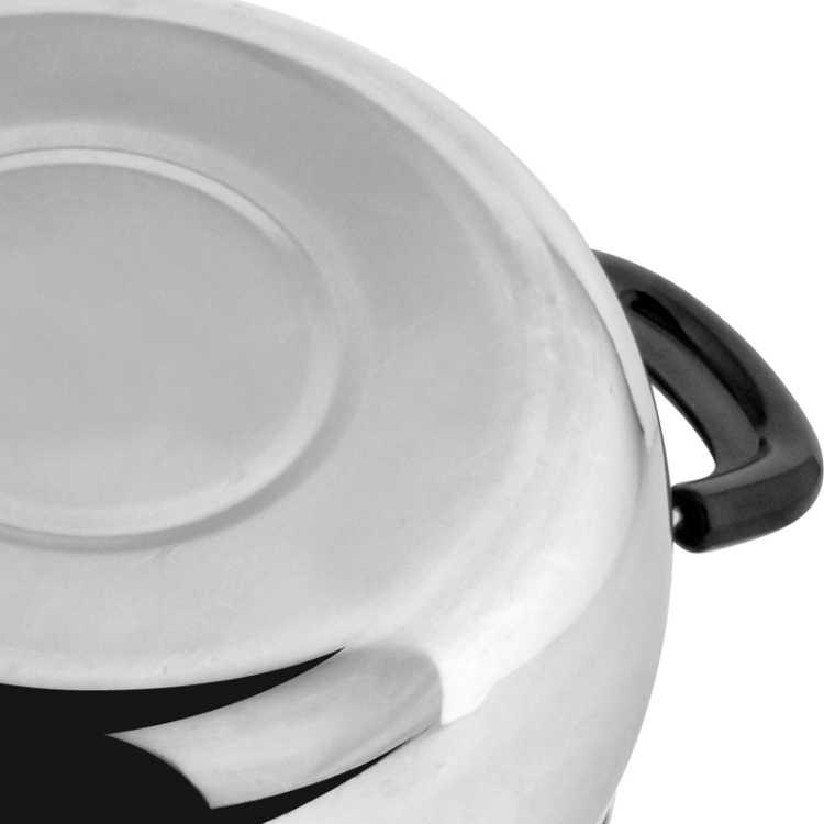 باخرة utensilios دي cocina اكسسوارات المطبخ الفولاذ الشعرية وعاء الحساء طنجرة وعاء الحليب والدليل الطبخ عام صغير