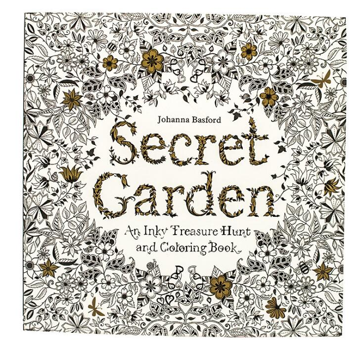 1 PC Secret Garden Adult Coloring Book 96 Pages 18.5*18.5cm Designs: Stress Relief Coloring Book: Garden Designs, Mandalas coloring mandalas 2 for balance harmony and spiritual well being
