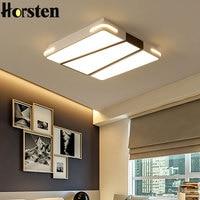 Modern Minimalism LED Ceiling Light For Living Room Bedroom Study Room Decoration Lighting Fixtures White Black Ceiling Lamp