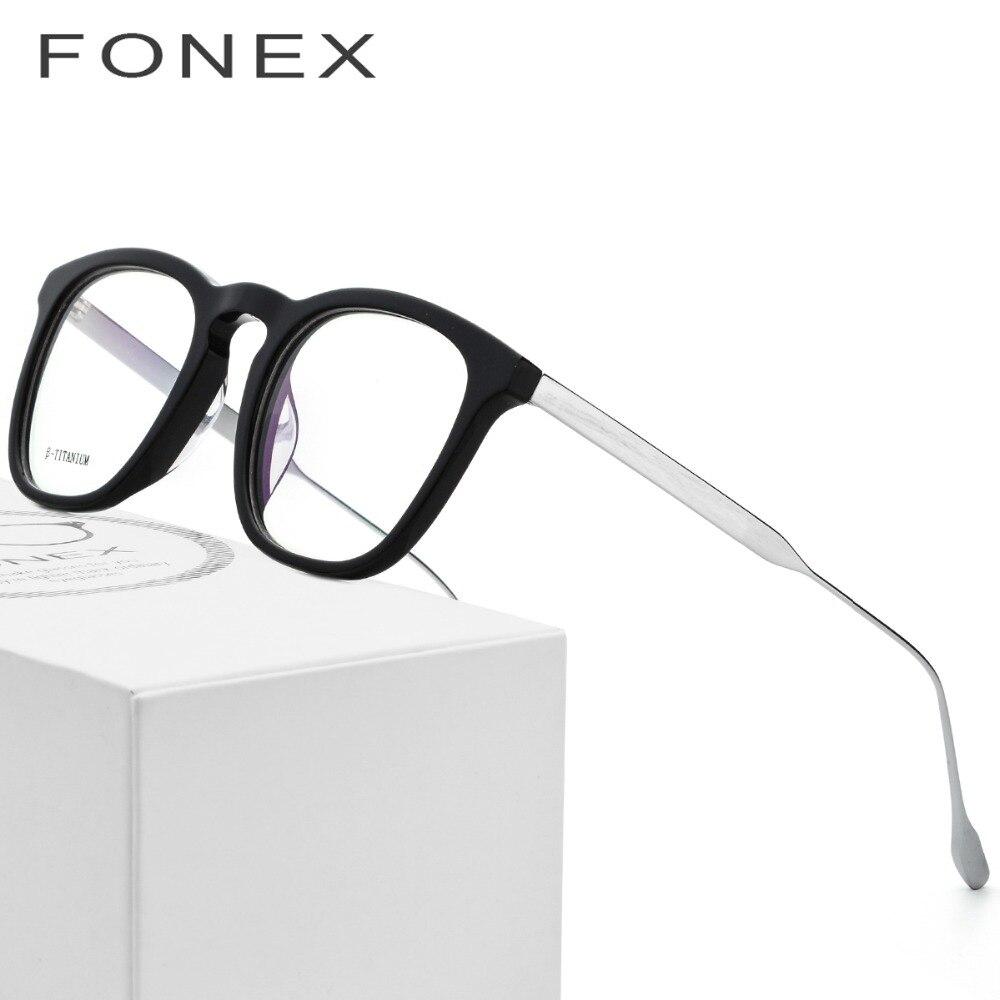 Acetat B Titan Brille Rahmen Frauen Ultraleicht Männer Rezept Brille ...