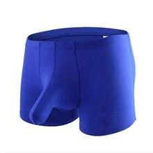 28f5fcba9451 Ropa interior de hombre bóxer shorts hombre sin costura u convexo diseño muy  suave sexy kilot