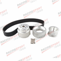 12A 13B 20B 15mm RX7 FD FC RX3 Gilmer Drive Pulley Kit 1.5 Notch Belt
