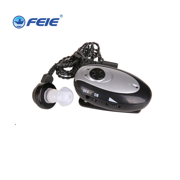 Free Shipping FEIE ear hearing machine cheap rechargeable pocket hearing aids S-80 listening device reasonable price ear listening machine