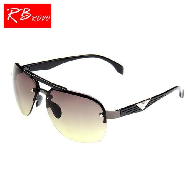 deacc4103c2 RBROVO 2018 Classic Vintage Sunglasses Man Driving HD Big Frame Sun Glasses  Women Brand Designer UV400