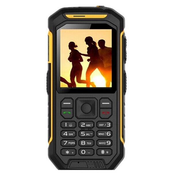 Русская клавиатура JEASUNG X6 UHF Walkie Talkie IP68 прочный водонепроницаемый мобильный телефон 2500 mah 2,4 дюйма двойной слот для sim карты