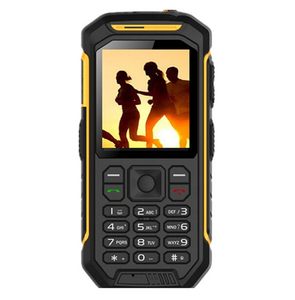 Image 3 - Teclado ruso JEASUNG X6 UHF Walkie Talkie IP68 robusto teléfono móvil impermeable 2500mah 2,4 pulgadas tarjeta Dual SIM GSM